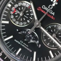 Omega Speedmaster Professional Moonwatch Moonphase nouveau 2018 Remontage automatique Chronographe Montre avec coffret d'origine et papiers d'origine 304.30.44.52.01.001