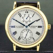 A. Lange & Söhne Langematik Yellow gold 40.5mm Silver United States of America, Massachusetts, Boston