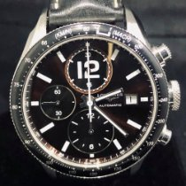 Longines Grande Vitesse Steel 41mm Brown Arabic numerals