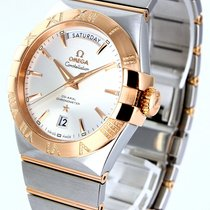 Omega Constellation Day-Date Gold/Steel 38mm Silver