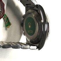 Rolex nuevo Automático Segundero pequeño Agujas luminosas Cronómetro Corona atornillada Pulsador a rosca Estado original/piezas originales Índices luminosos 40mm Acero Cristal de zafiro