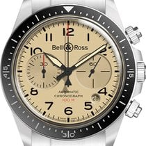 Bell & Ross Steel 41mm Automatic BRV294-BEI-ST/SST new