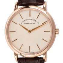 A. Lange & Söhne Saxonia Rose gold 37mm Silver United States of America, Texas, Austin