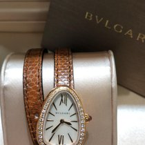 Bulgari Serpenti Ouro rosa 27mm Madrepérola