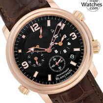 Blancpain Léman Réveil GMT Rose gold 40mm Black Arabic numerals United States of America, Florida, North Miami Beach