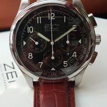 Zenith El Primero Chronomaster pre-owned 38mm Black Crocodile skin
