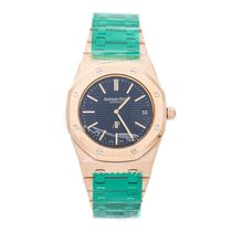 Audemars Piguet Royal Oak Jumbo Rose gold 39mm Blue No numerals United States of America, Pennsylvania, Bala Cynwyd