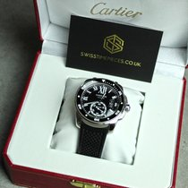 Cartier pre-owned Automatic 38mm Black Sapphire Glass 30 ATM