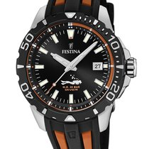Festina Steel 44mm Quartz F20462/3 new