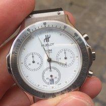 Hublot Chronograph chrono Quarzo 37 mm Steel Acciaio
