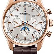 Zenith El Primero 410 Rose gold Silver United States of America, New York, Brooklyn
