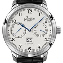 Glashütte Original Senator Observer Steel 44mm Silver United States of America, New York, Airmont