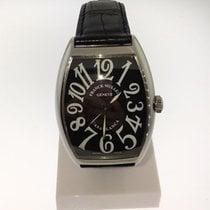 Franck Muller Steel Automatic Black Arabic numerals 34mm pre-owned Casablanca