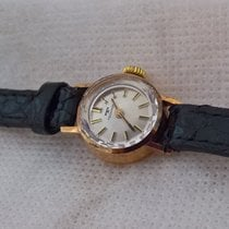 Technos Oro amarillo 18mm Cuerda manual 148809 usados