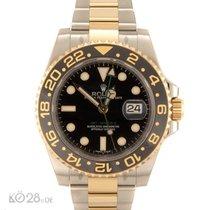 Rolex GMT Master II 116713LN Steel/Gold unworn B+P 03/17 LC100