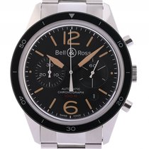 Bell & Ross BR V1 nov Automatika Kronograf Sat s originalnom kutijom i originalnom dokumentacijom BRV126-ST-HER/SST