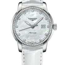 Longines New Ladies Saint-Imier L25630872 Diamond MOP Watch...