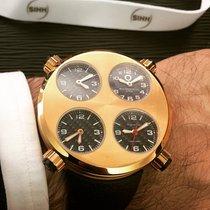 Meccaniche Veloci Rose gold Automatic Black Arabic numerals 49mm new