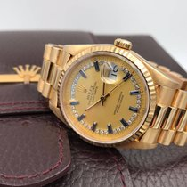 Rolex Day-Date 18238 zaffiri e brillanti - full set