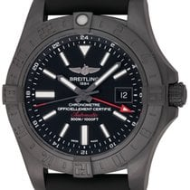 Breitling : Avenger II GMT :  M3239010/BF04 :  Blacksteel : NEW