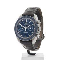 Omega Speedmaster Professional Moonwatch Titan 44,25mm Blau Keine Ziffern
