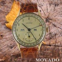 Movado Roodgoud Handopwind Zilver Arabisch 32mm tweedehands