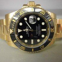"""Rolex Submariner 116618 """"v"""" Series 18k 40mm Ceramic Bezel..."""