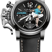 "Graham Chronofighter Vintage Noseart Ltd. Edition ""Linda"""