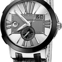 Ulysse Nardin 243-00/421 Steel Executive Dual Time 43mm new