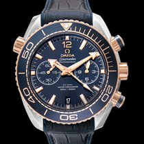 Omega Seamaster Planet Ocean Chronograph Rose gold 45.5mm Blue United States of America, California, San Mateo