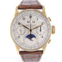 Patek Philippe 1518 Yellow Gold Perpetual Calendar Chrono