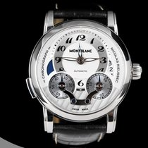 Montblanc Chronograph 43mm Automatic pre-owned Nicolas Rieussec Grey