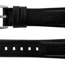 Montblanc Accesorios montblanc-black-leather-strap-mb18blklt nuevo