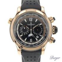 Jaeger-LeCoultre Master Compressor Extreme World Chronograph Ouro rosa 46.3mm Preto Árabes