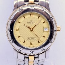 Edox 36mm Automatic pre-owned Champagne