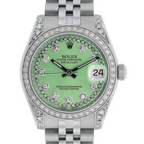 Rolex Lady-Datejust Steel 31mm Green United States of America, California, Los Angeles