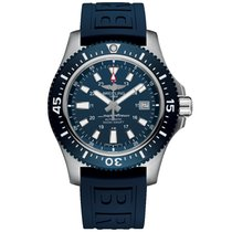 Breitling Superocean 44 Steel 44,00mm Blue No numerals United Kingdom, or EU warehouse (see description)