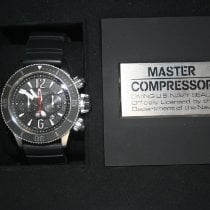 Jaeger-LeCoultre Master Compressor Diving Chronograph GMT Navy SEALs usados 46mm Cronógrafo Fecha GMT Caucho