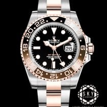 Rolex GMT-Master II 126711CHNR New Gold/Steel 40mm Automatic