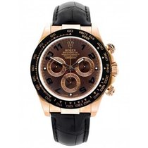 Rolex Ceramic Automatic Brown 40mm pre-owned Daytona