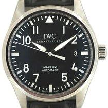 IWC Pilot Mark 39mm Чёрный Aрабские