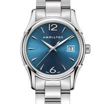 Hamilton Jazzmaster Lady Steel 34mm Blue