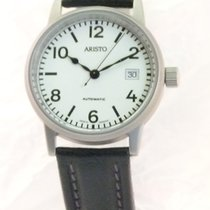 Aristo Steel 38,5mm Automatic Aristo 3H17R U-Boot-Uhr new