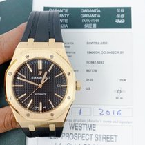 Audemars Piguet 15400or.oo.d002cr.01 Roségold Royal Oak Selfwinding 41mm gebraucht