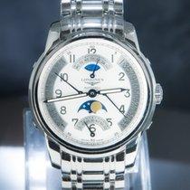 Longines Saint-Imier Steel 44mm Silver Arabic numerals