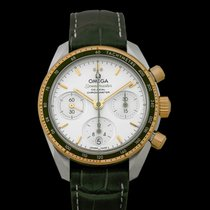Omega Speedmaster Ladies Chronograph Yellow gold 38mm Silver United States of America, California, San Mateo
