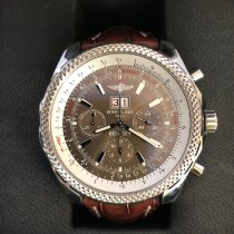 Breitling Bentley 6.75 pre-owned 48mm Brown Chronograph Date Tachymeter Steel