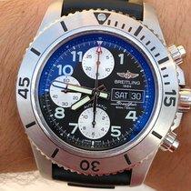 Breitling Superocean Chronograph Steelfish Steel 44mm Black Arabic numerals United States of America, Texas, Plano