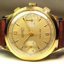 Eberhard & Co. Yellow gold 39mm Manual winding Extra-Fort pre-owned