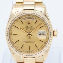 Rolex Day-Date 36 18038 Très bon Or jaune 36mm Remontage automatique